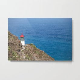 Makapuu Lighthouse Metal Print