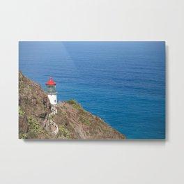 Makapuu Lighthouse Metal Print