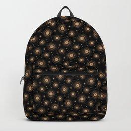Glowing stars mandala pattern Backpack