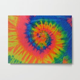 Tie Dye 016 Metal Print