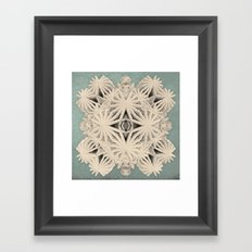 Ancient Calaabachti Filigrane Framed Art Print