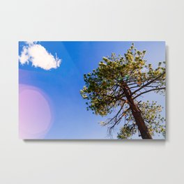 STOP AND LOOK UP Metal Print