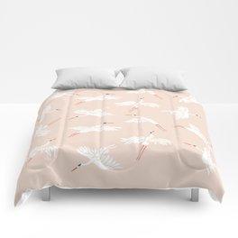 Crane Dance Comforters
