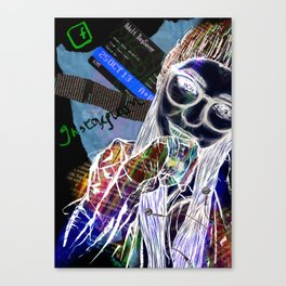 Adolescent Consciousness Canvas Print