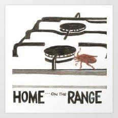 Home, Home on  the Range Art Print