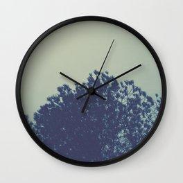 Tree leaf pattern Wall Clock
