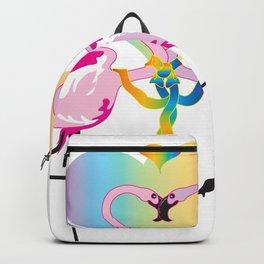 Gay Flamingos Backpack