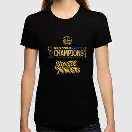 Wariors Champions 2017 T-shirt