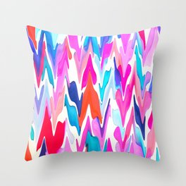 Lacquered Love Throw Pillow