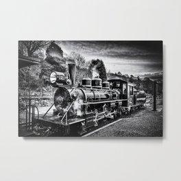 Philadelphia 61269 Black And White Metal Print