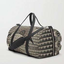 Buffalo Running (Gray) Duffle Bag