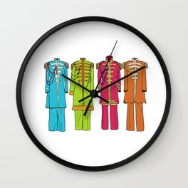 Sargent Peppers Wall Clock