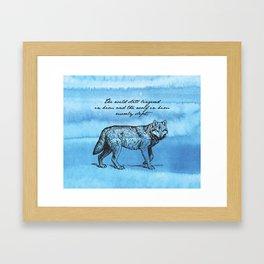 White Fang - Jack London Framed Art Print