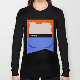 Dr. Beverly Crush er - Minimalist Star Trek TNG The Next Generation 1701 D  startrek - Trektangles Long Sleeve T-shirt