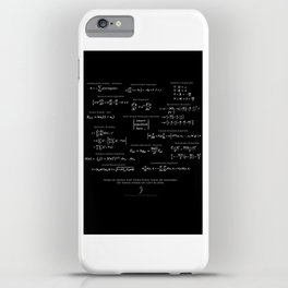 High-Math Inspiration 01 - inverted color iPhone Case