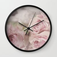 leonardo Wall Clocks featuring Leonardo by Susie Peacock