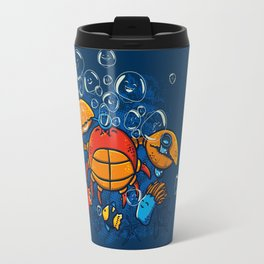 Jellyfishes Birth Travel Mug