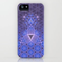 Lifeforms | Acid abstract iPhone Case