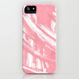 Mauvelous abstract watercolor iPhone Case