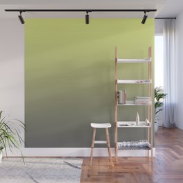 Yellow & Gray Gradient Color Wall Mural