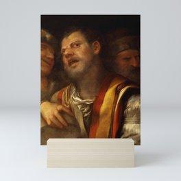 """Giorgione (Giorgio Barbarelli da Castelfranco) """"Sansone deriso"""" or """"The concert"""" Mini Art Print"""