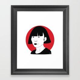 Rei Kawakubo Framed Art Print