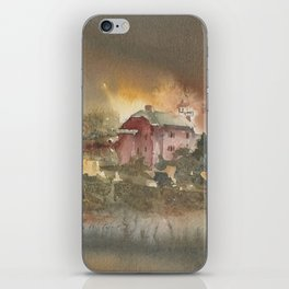 Marquette Lighthouse iPhone Skin