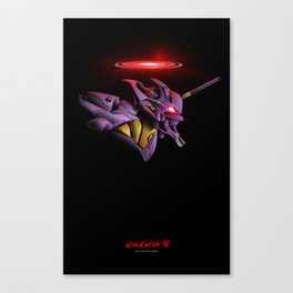 Evangelion Unit 01 - Rebuild of Evangelion 3.0 Movie Poster Canvas Print