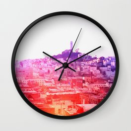 Crayola Skyline Wall Clock