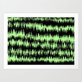 Forest Line Art Print