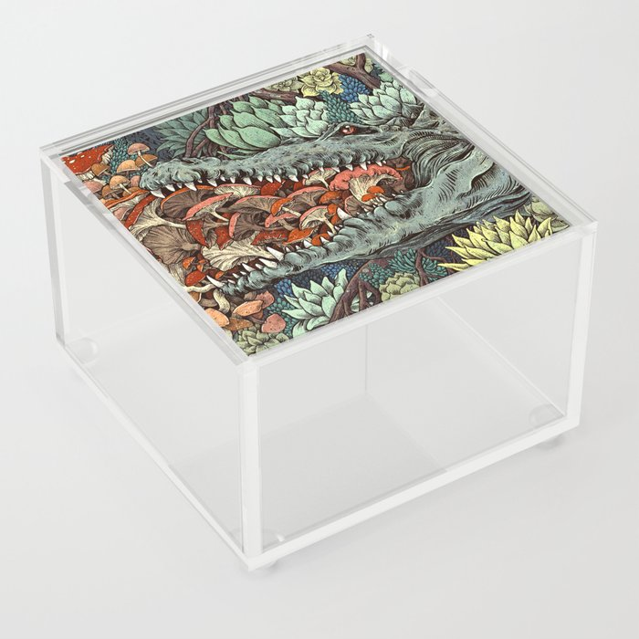 Flourish Acrylic Box