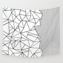 Abstraction Outline Grid on Side White by projectm