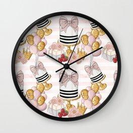 Birthday Pattern Wall Clock