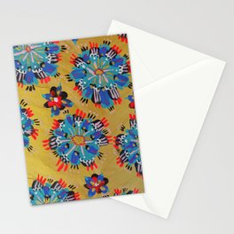 Red Sundial Stationery Cards