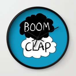 Boom Clap (the sound of my heart - TFIOS) Wall Clock