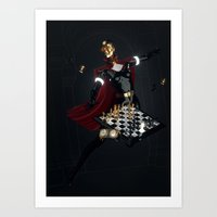 chess Art Prints featuring Chess by Guilherme Marconi