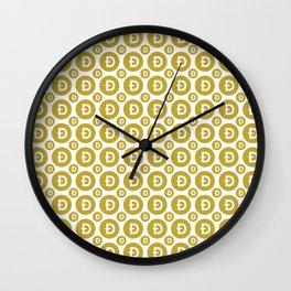 Doge - Crypto Fashion Art (Small) Wall Clock