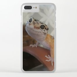 Smiling Sobek Clear iPhone Case
