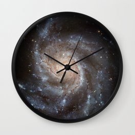 Spiral Galaxy (M101) Wall Clock
