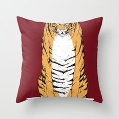 life of pi - red variant Throw Pillow