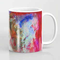 Abstract Owl Coffee Mug