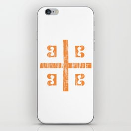 Byzantine Cross iPhone Skin