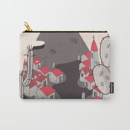 Mexico Mountains Carry-All Pouch