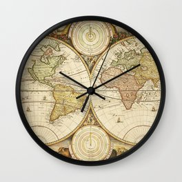 Mapamundi Wall Clock
