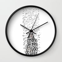catwoman Wall Clocks featuring Catwoman by justjeff