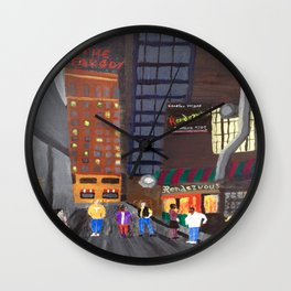Rendezvous Alley, Memphis Wall Clock