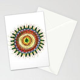 Gaia Mandala Stationery Cards