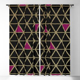 Golden Luxury Blackout Curtain