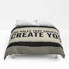 Re-Create Yourself Comforters