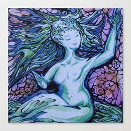 Evening Muse Canvas Print